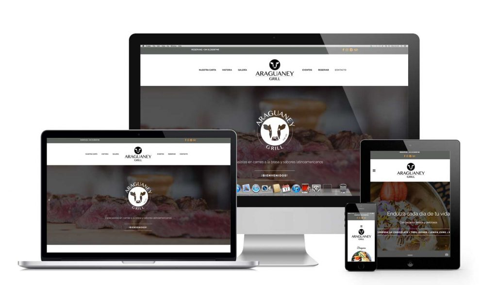 Araguaney Grill Responsive