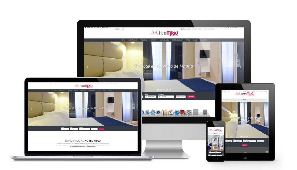 Hotelmiau.com Responsive