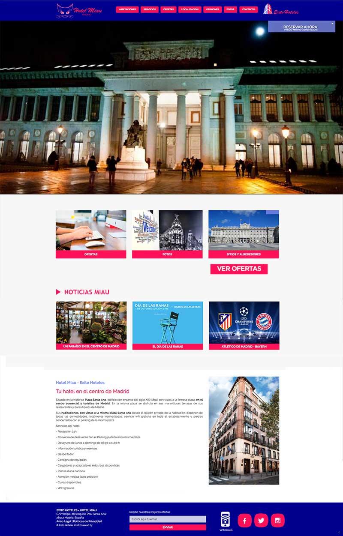 Página web antigua